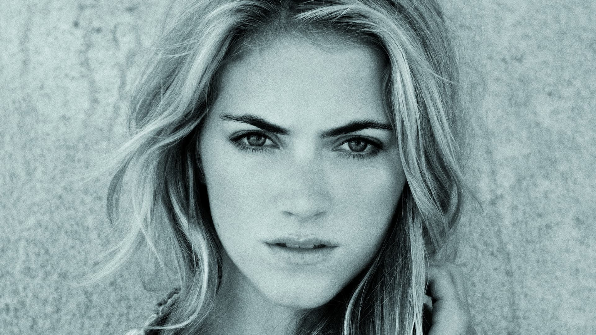 Emily Wickersham picture HD black and white