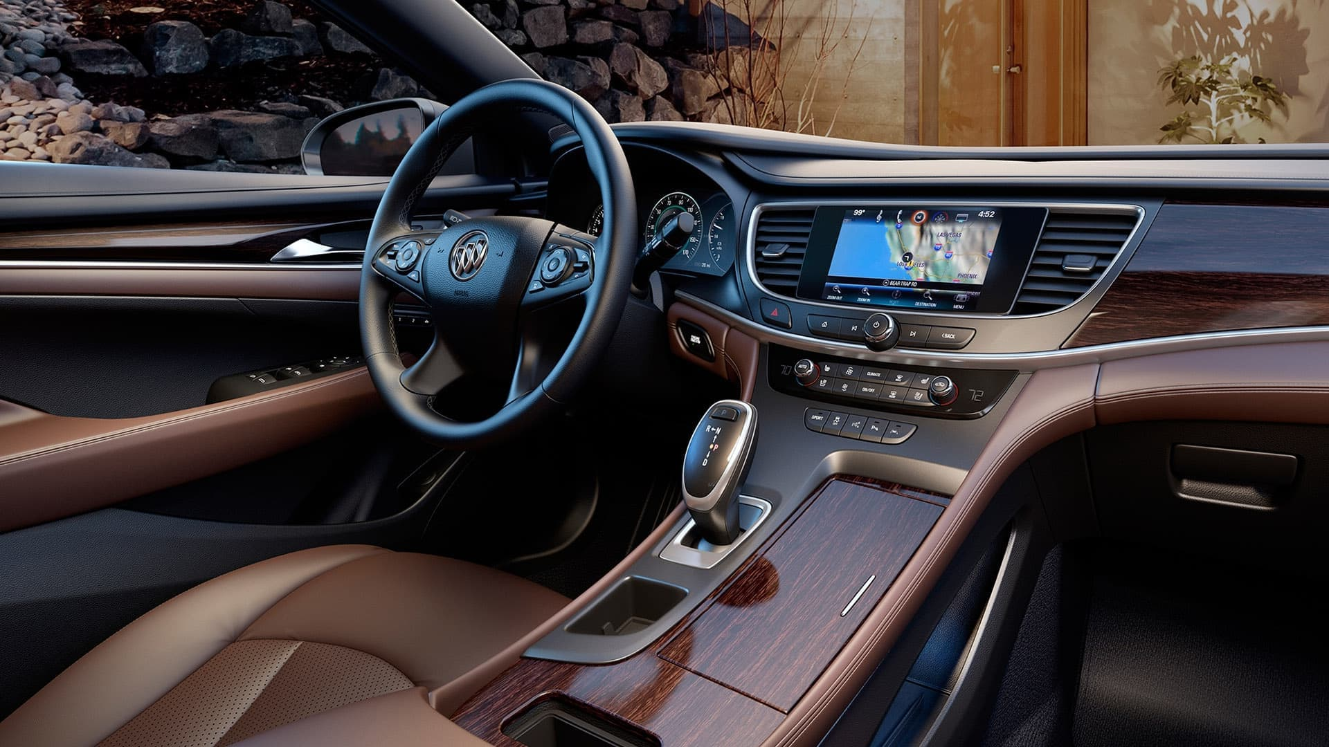 2017 Buick LaCrosse leather interior
