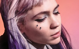 makeup by Grimes singer HD image