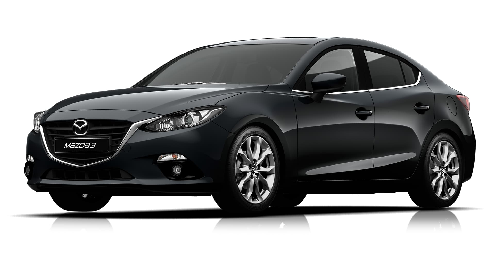 2016 mazda 3 black gallery. Black Bedroom Furniture Sets. Home Design Ideas