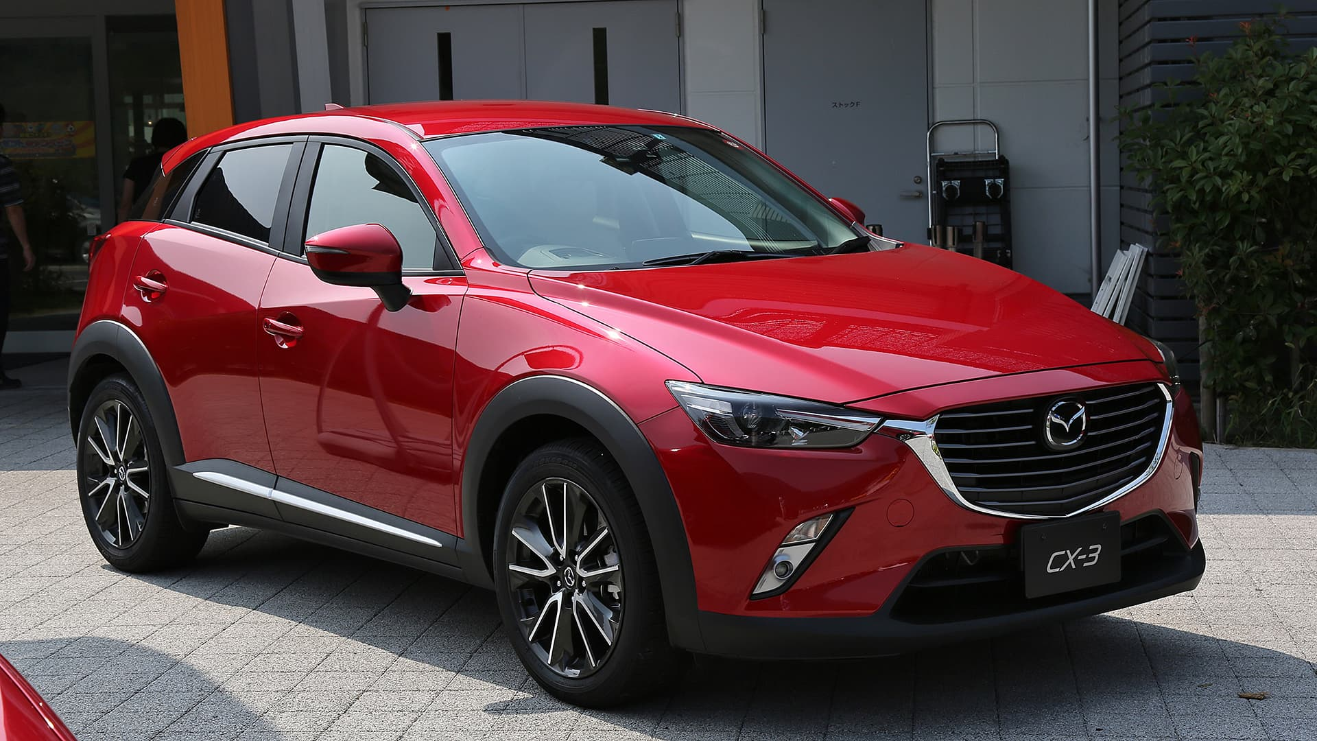 Mazda CX 3 2016 red wallpapers High Quality