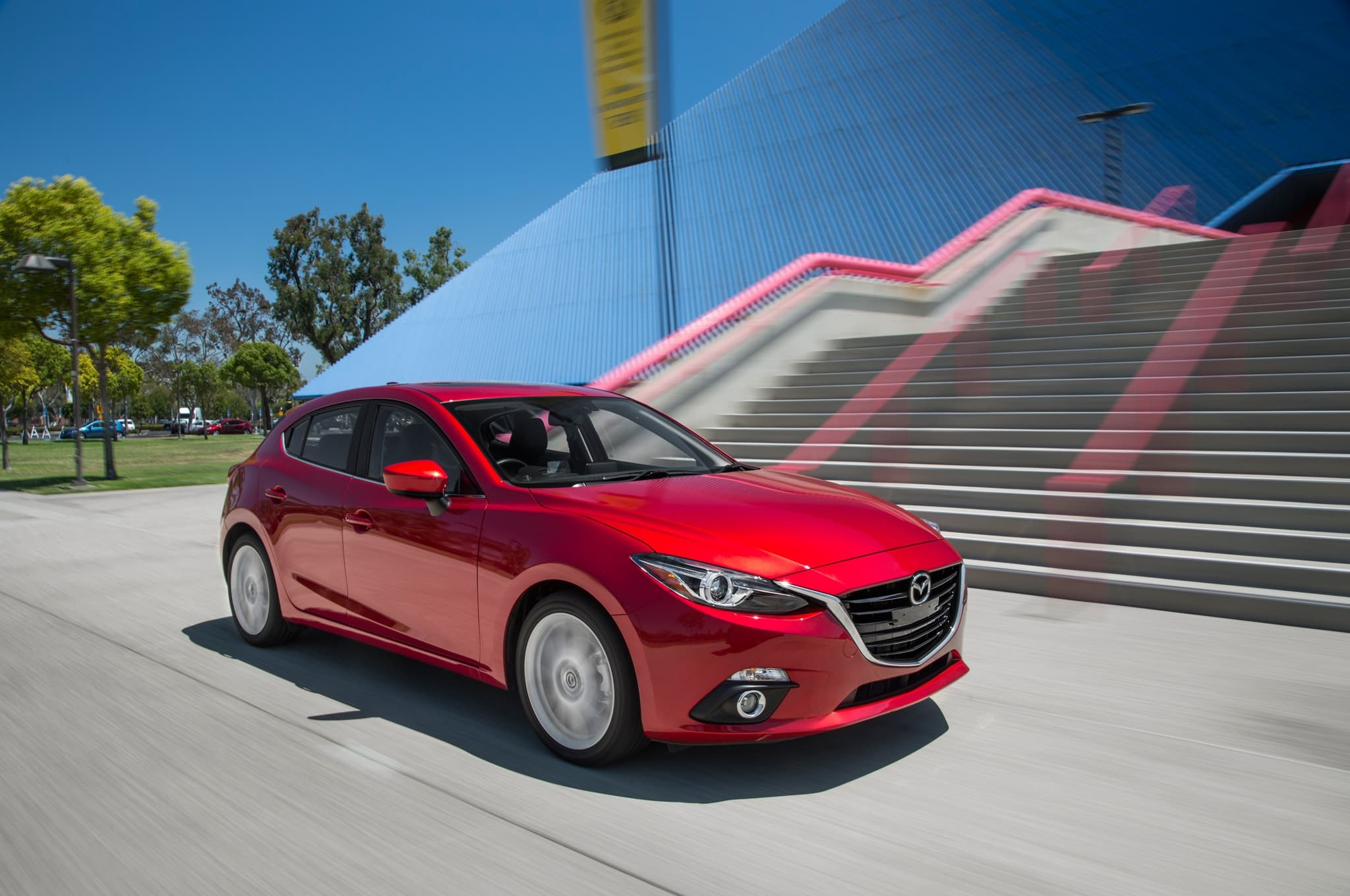 Mazda 3 2016 Hatchback wallpapers HD High Quality