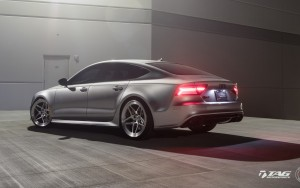 rear bumper 2016 Audi RS7 HD image