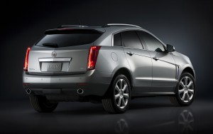 rear bumper 2016 Cadillac SRX HD