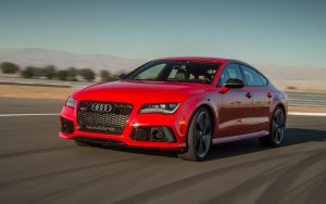 red 2016 Audi RS7 quattro Download pictures