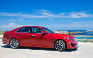 red 2016 Cadillac CTS-V new picture