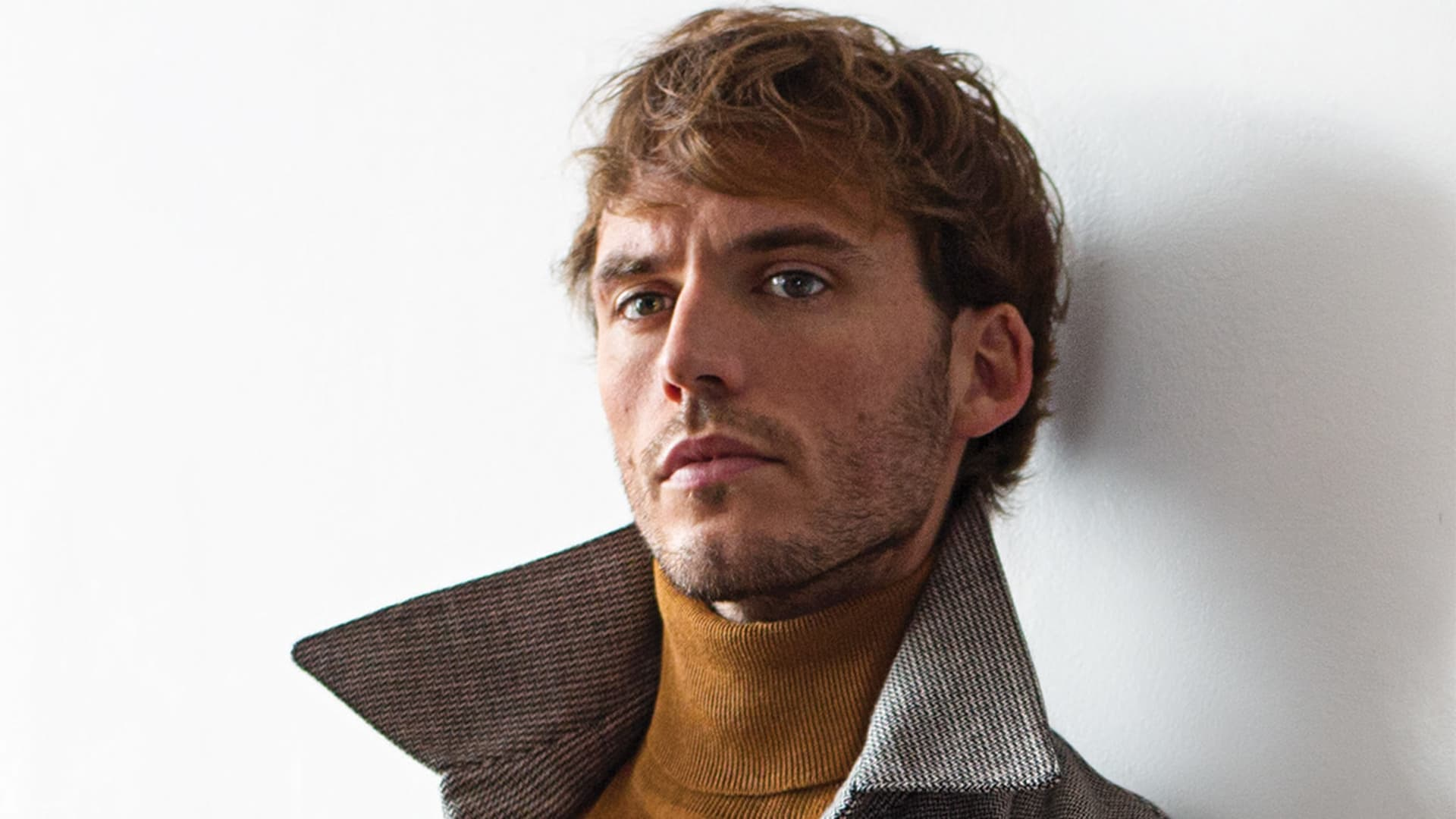 Sam Claflin hair
