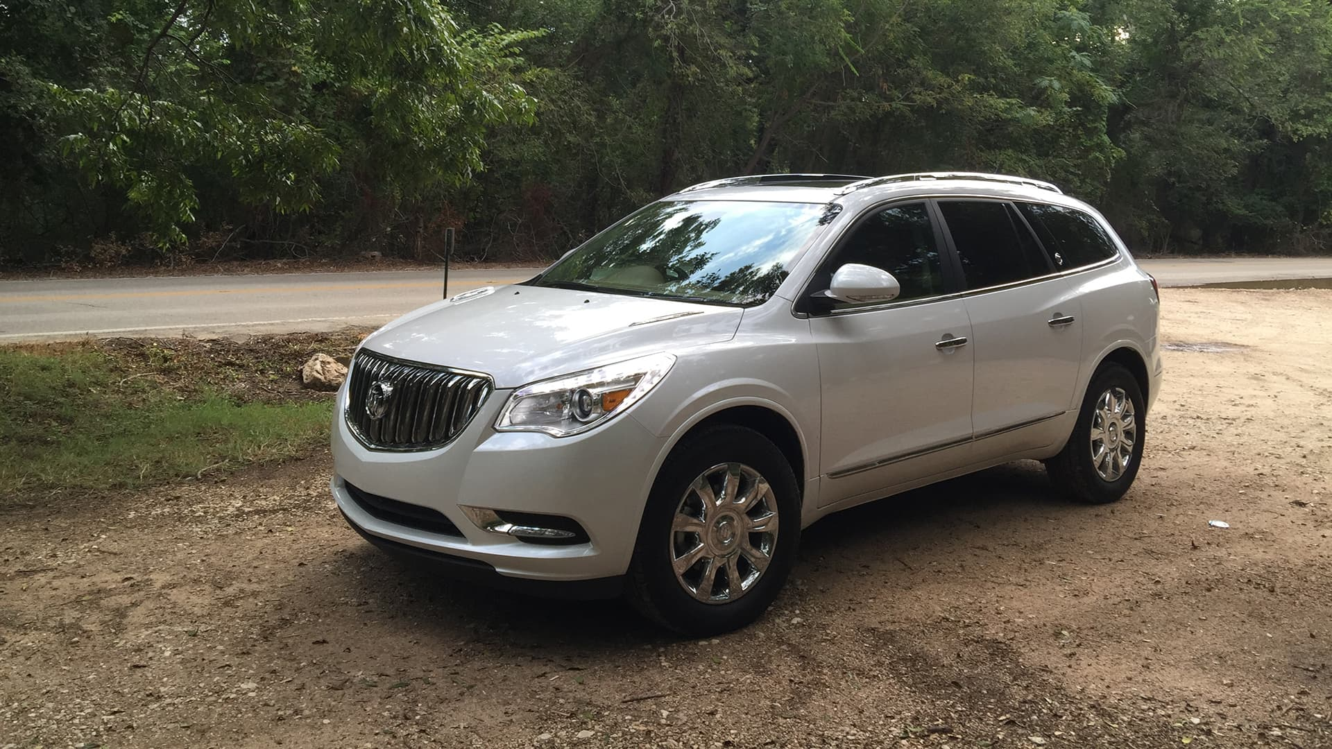 silver 2016 Buick Enclave High Definition wallpaper
