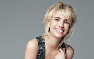 smile Emma Roberts Download wallpaper