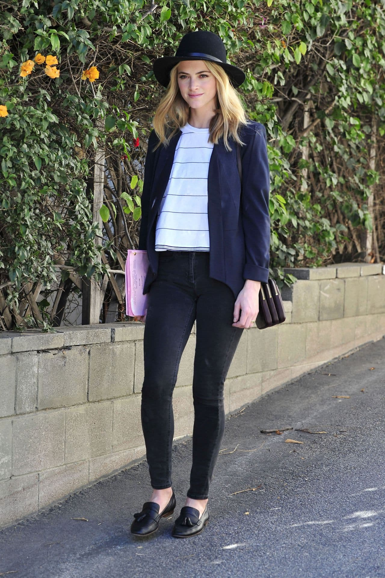 Emily Wickersham street style picture