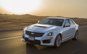 sunset 2016 Cadillac CTS-V High Definition