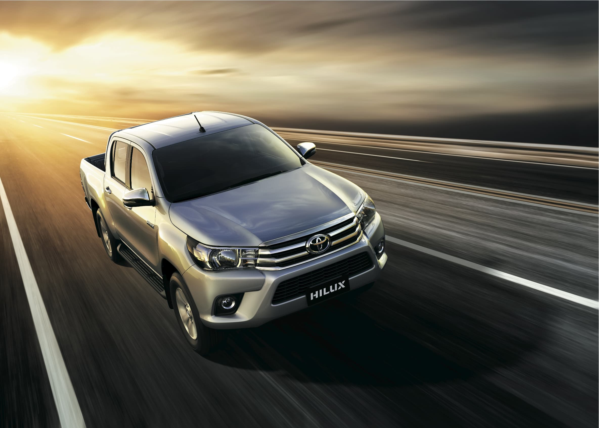 Toyota Hilux 2016 silver