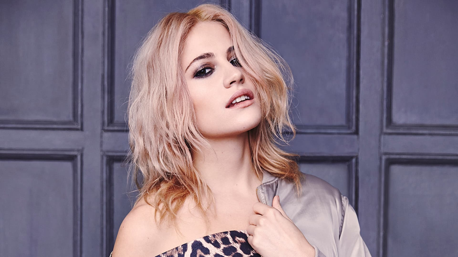 Wallpaper face Pixie Lott 1080p