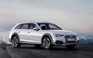 white 2016 Audi A4 Allroad wallpapers HD
