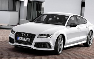 white 2016 Audi RS7 sportback HQ wallpaper