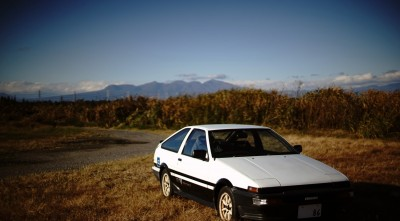 white Toyota Corolla AE86 High Quality wallpaper