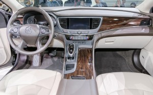 white interior 2017 Buick LaCrosse Download pictures