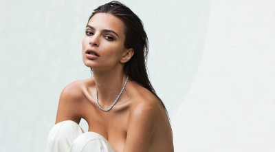 Emily Ratajkowski for Desktop in HD necklace