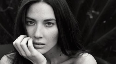 Olivia Munn black and white Photos