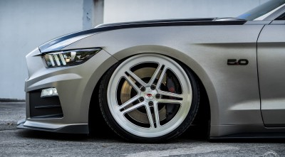 2016 Ford Mustang GT Vossen Wheels High Resolution