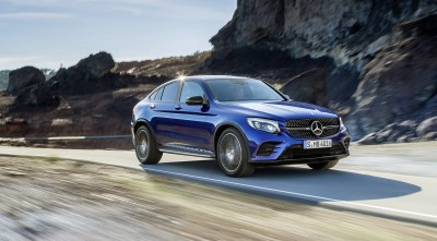 2016 Mercedes-Benz GLC Coupe Wallpaper