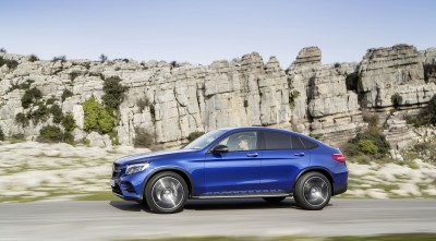 2016 Mercedes-Benz GLC Coupe Background