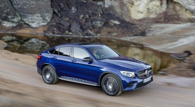 2016 Mercedes-Benz GLC Coupe HD wallpapers