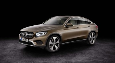 2016 Mercedes-Benz GLC Coupe green and black new photo