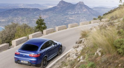 HD 2016 Mercedes-Benz GLC Coupe rear Wallpaper