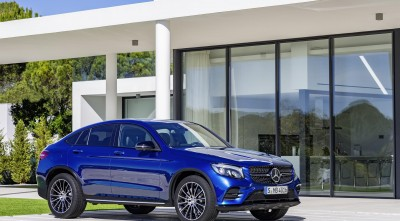 wheels 2016 Mercedes-Benz GLC Coupe for Desktop Background