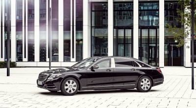 2016 Mercedes-Maybach S600 Guard Wallpaper