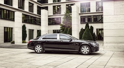 2016 Mercedes-Maybach S600 Guard Background