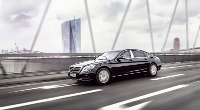 2016 Mercedes-Maybach S600 Guard HD wallpapers
