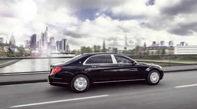2016 Mercedes-Maybach S600 Guard speed Desktop Wallpaper 1080p