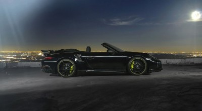 2016 Porsche 911 Cabriolet Techart Wallpapers HD at night