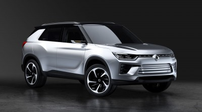 2016 SsangYong SIV 2 Concept Wallpaper HD