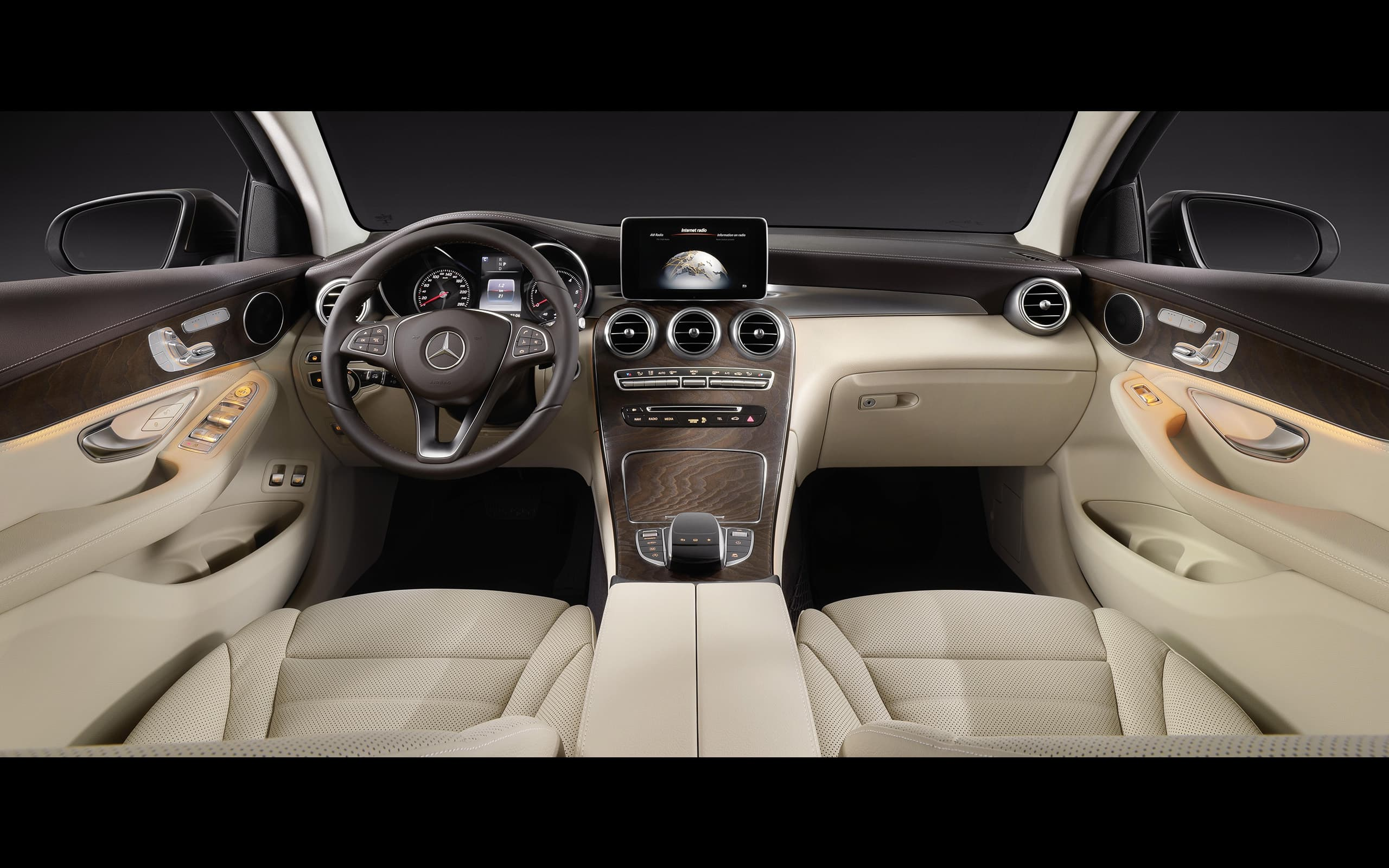 2016 Mercedes-Benz GLC Coupe interior Wallpapers HD