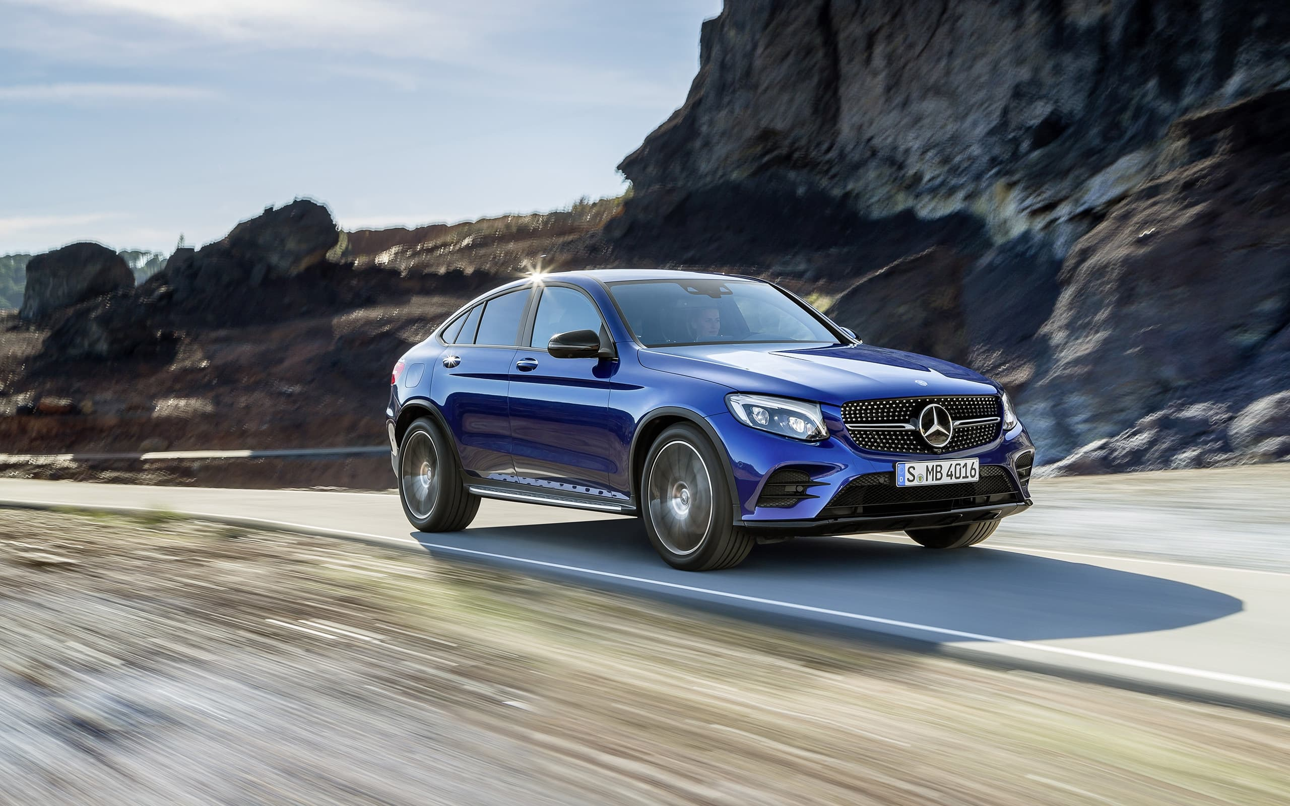 2016 Mercedes Benz Glc Coupe Wallpapers Images High Resolution