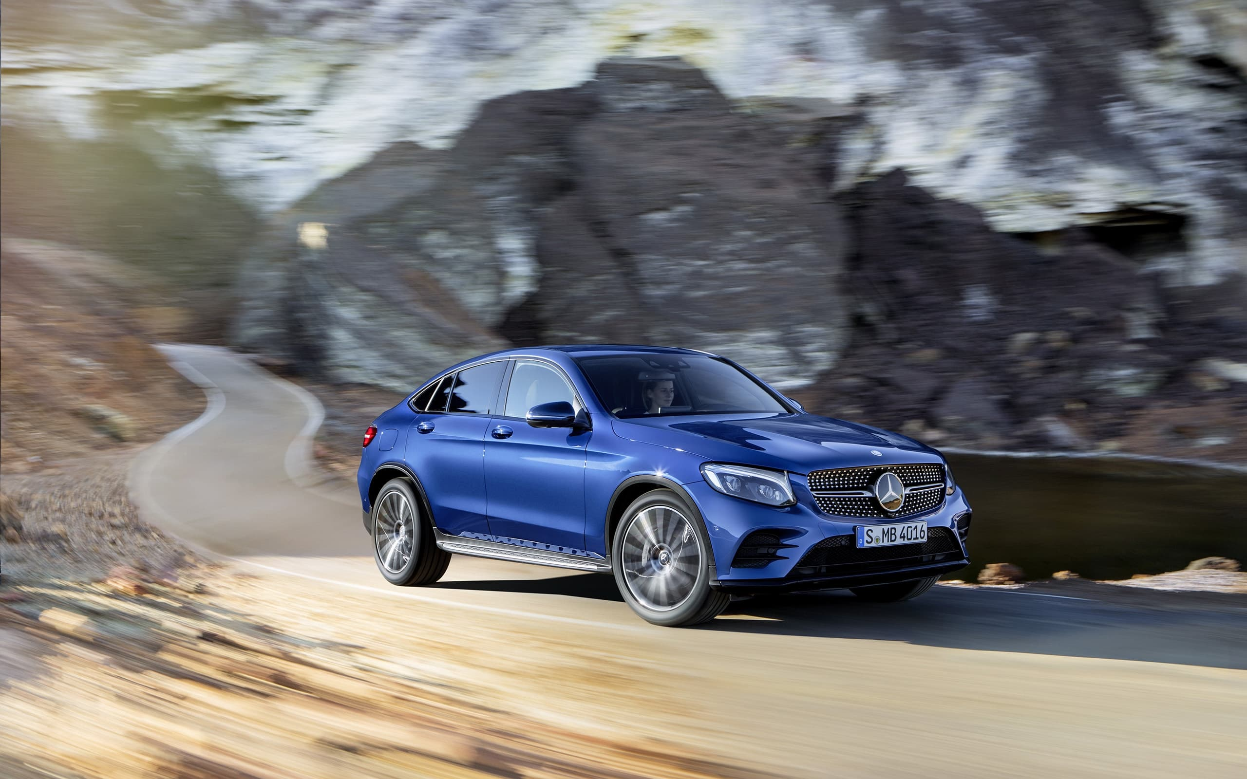 2016 Mercedes-Benz GLC Coupe Wallpapers