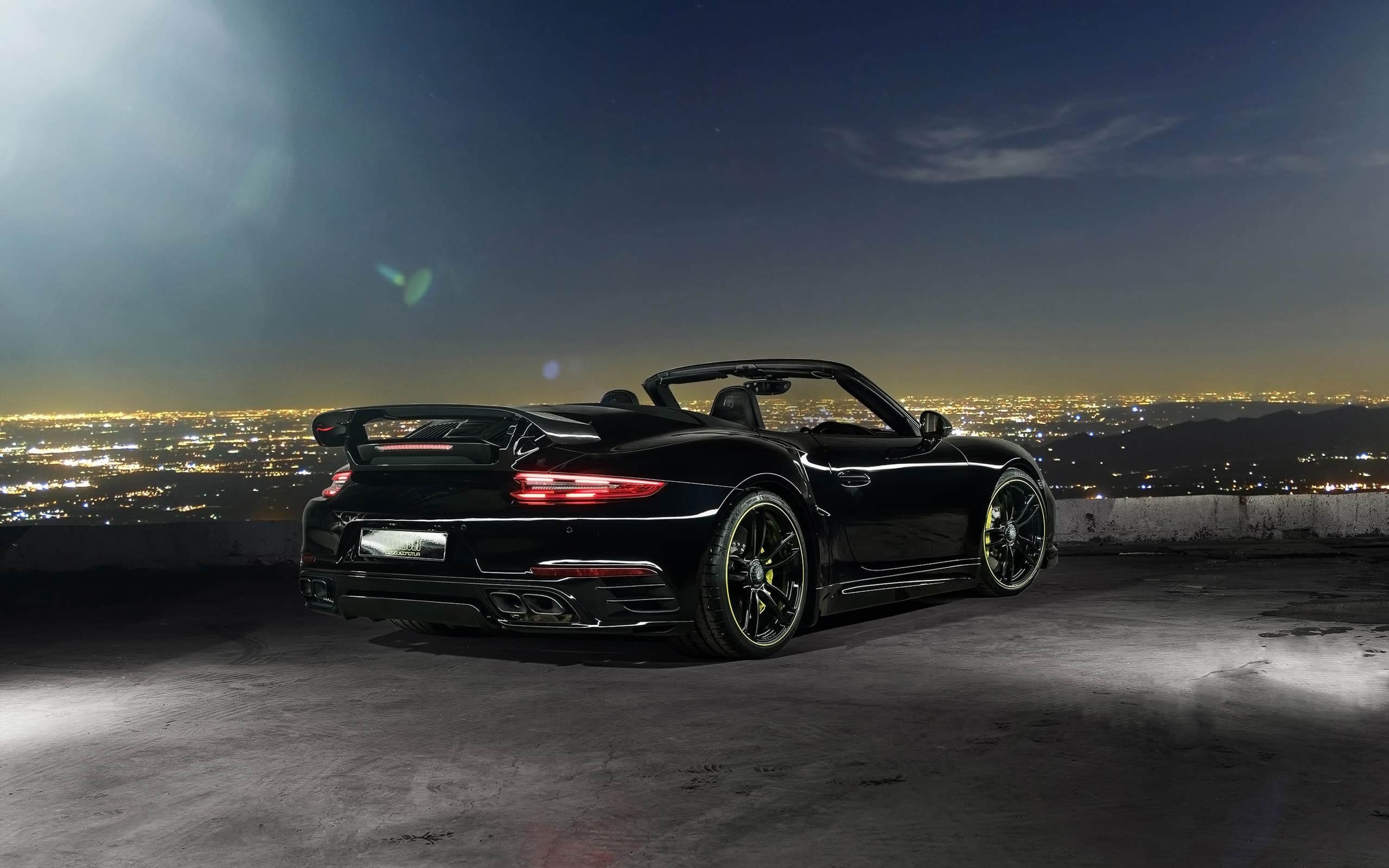 2016 Porsche 911 Cabriolet TechArt Wallpapers HD Black, at ...