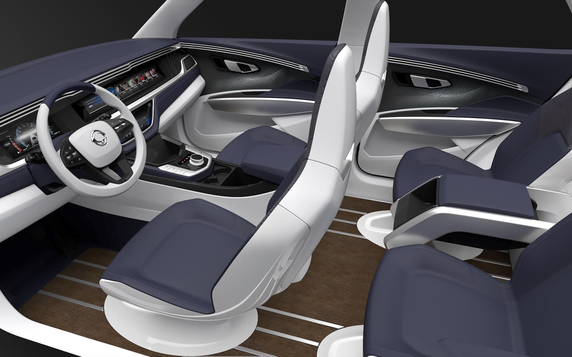 2016 SsangYong SIV 2 Concept Interior image new 2016
