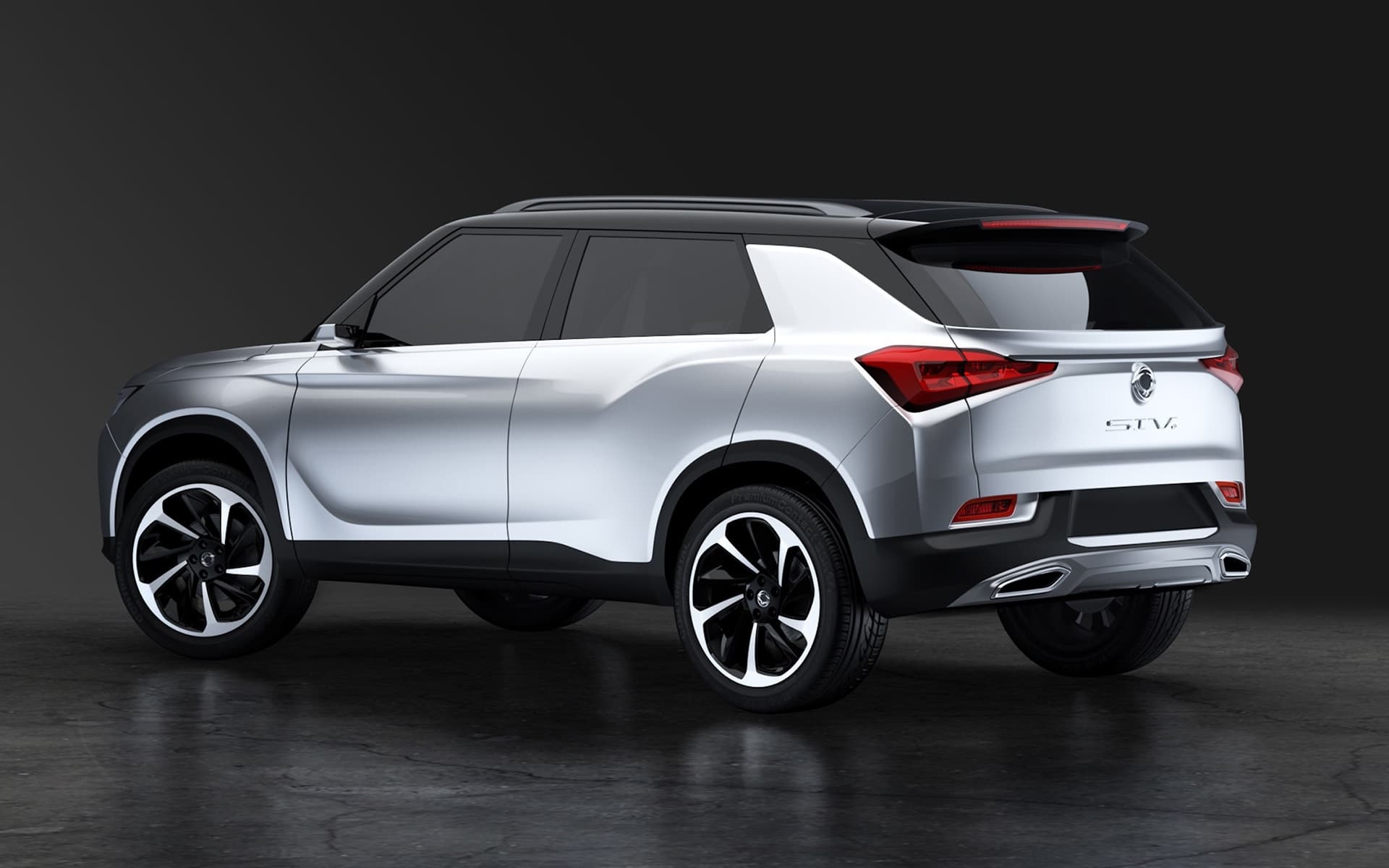 2016 SsangYong SIV 2 Concept SUV 1 Wheels Background HD