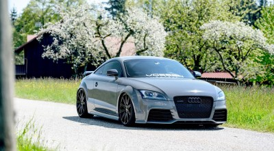 Audi TT RS Tuning Wallpapers HD sakura tree
