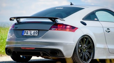 Wallpaper Audi TT RS Tuning HD rear bumper