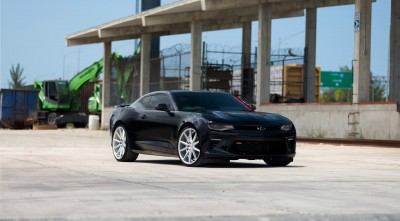 Chevy Camaro SS 2016 Wallpapers HD black