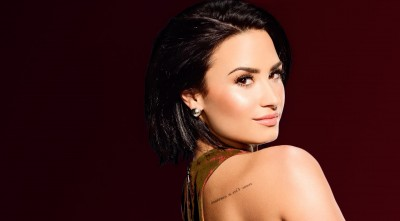 Demi Lovato Black Background