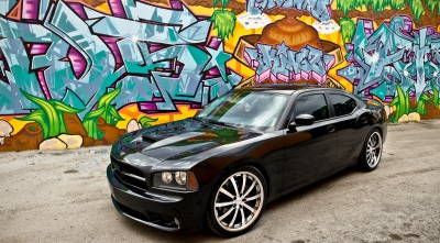 Dodge Charger Widescreen Wallpaper Vossen Wheels