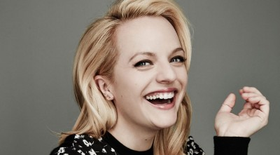 smile Elisabeth Moss Wallpaper