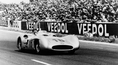 Juan Manuel Fangio Mercedes Desktop Background