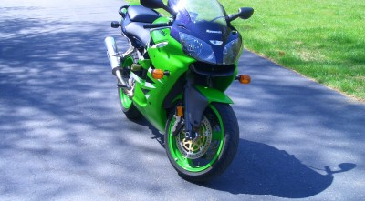 Pictures of Kawasaki Ninja 600 ZX 6R for Desktop